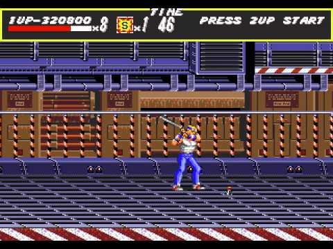 Streets of Rage playthrough - Sega Mega Drive/Genesis