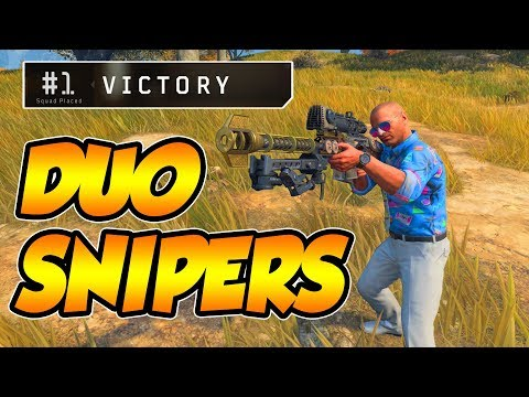CoD BLACKOUT | HAViNG 2 SNiPERS iN DUOS iS OP!!!! (Feat. Siimssyy)