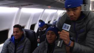 DBP: Jayson Tatum on the Flight Home from Connecticut (11/21/16)