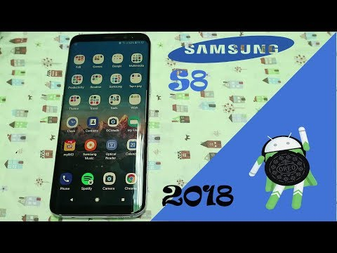 Review Samsung S8 INDONESIA DI ANDROID OREO 2018