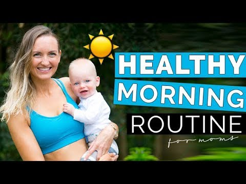 healthy-morning-routine-with-a-baby-|-morning-habits-for-new-moms-|-yoga,-workout,-and-food-tips