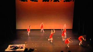 """Falling"" choreographed by Elizabeth Castaneda - ODC Uncertain Weather"