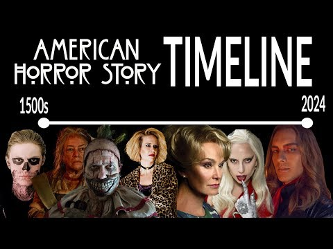 AHS Complete Timeline: 1500s - 2024 ALL SEASONS!