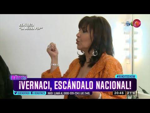 ¡Vernaci, escándalo nacional!