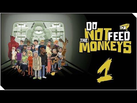 DO NOT FEED THE MONKEYS   Capitulo 1   Somos un STALKER profesional - Juego adictivo xD