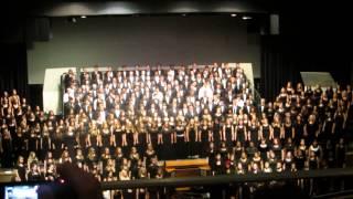 """Hallelujah, Amen""  2014 Mars Hill Festival Choir"
