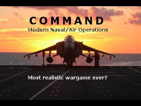 Command: Modern Naval/Air Operations 01 - Setup: Our Fleet