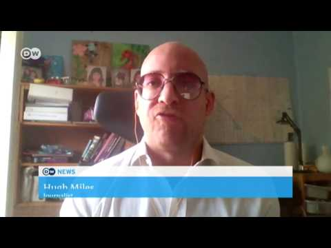 Hugh Miles interview about the Qatar crisis on DW TV 5 July 2017