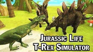 Jurassic Life: T-Rex Simulator #1 | Eftsei Gaming