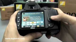 Nikon D3000 First Impression Video by DigitalRev(Brought to you by www.digitalrev.com The Nikon D3000(http://bit.ly/NikD3000) is a lightweight and compact DSLR that delivers brilliant images while keeping ..., 2009-08-28T20:13:34.000Z)