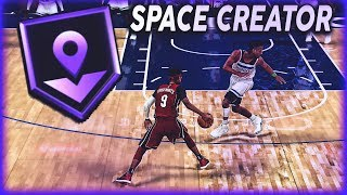 HOW TO USE SPACE CREATOR BADGE IN NBA 2K20 - BEST BADGE FOR SHOT-CREATORS!