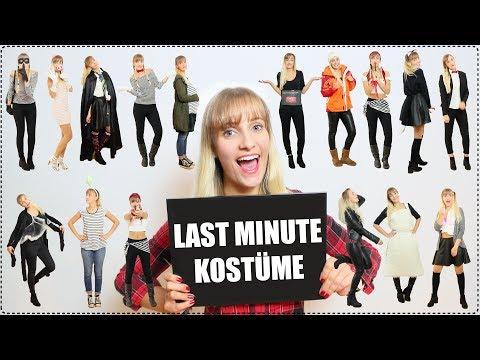 Last Minute Kostume Diys Schnell Einfach Youtube