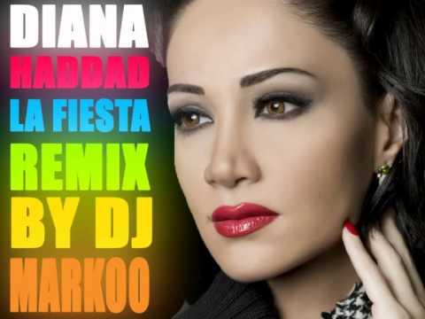 Diana Haddad-La Fiesta Remix BY DJ MARKOO 2015