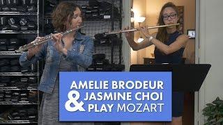 Amelie and Jasmine Choi Play Mozart's Magic Flute
