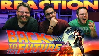 Back to the Future Honest Trailer REACTION!!