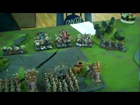 Ogres vs Lizardmen 02 Runic Ruins