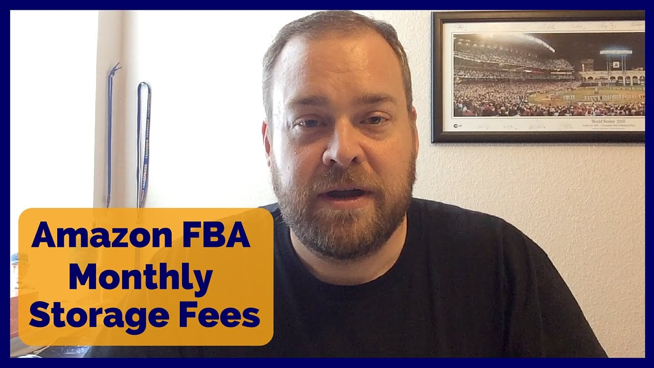 amazon fba monthly storage fees