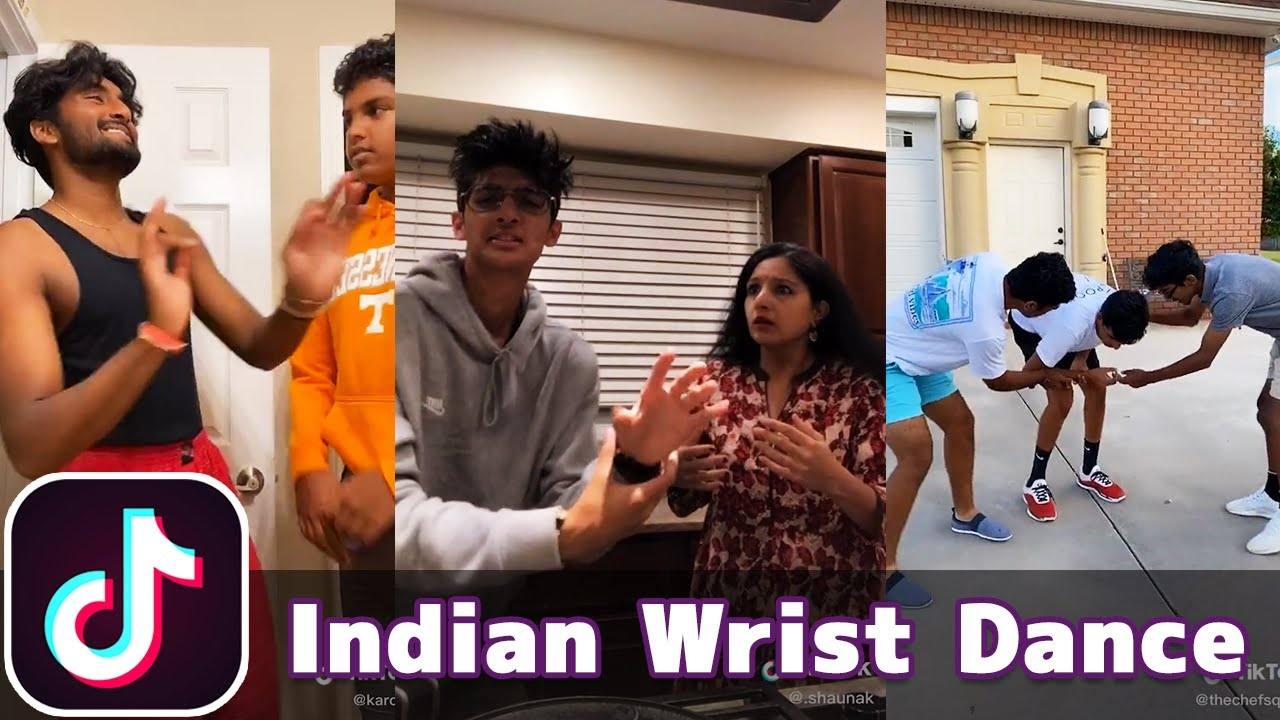 Indian Wrist Dance | TikTok Compilation