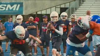 Boise State's Showcase Camp brings in elite high school football talent from around the country