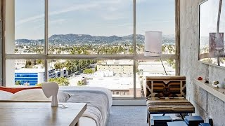 the line hotel room tour hollywood hills suite