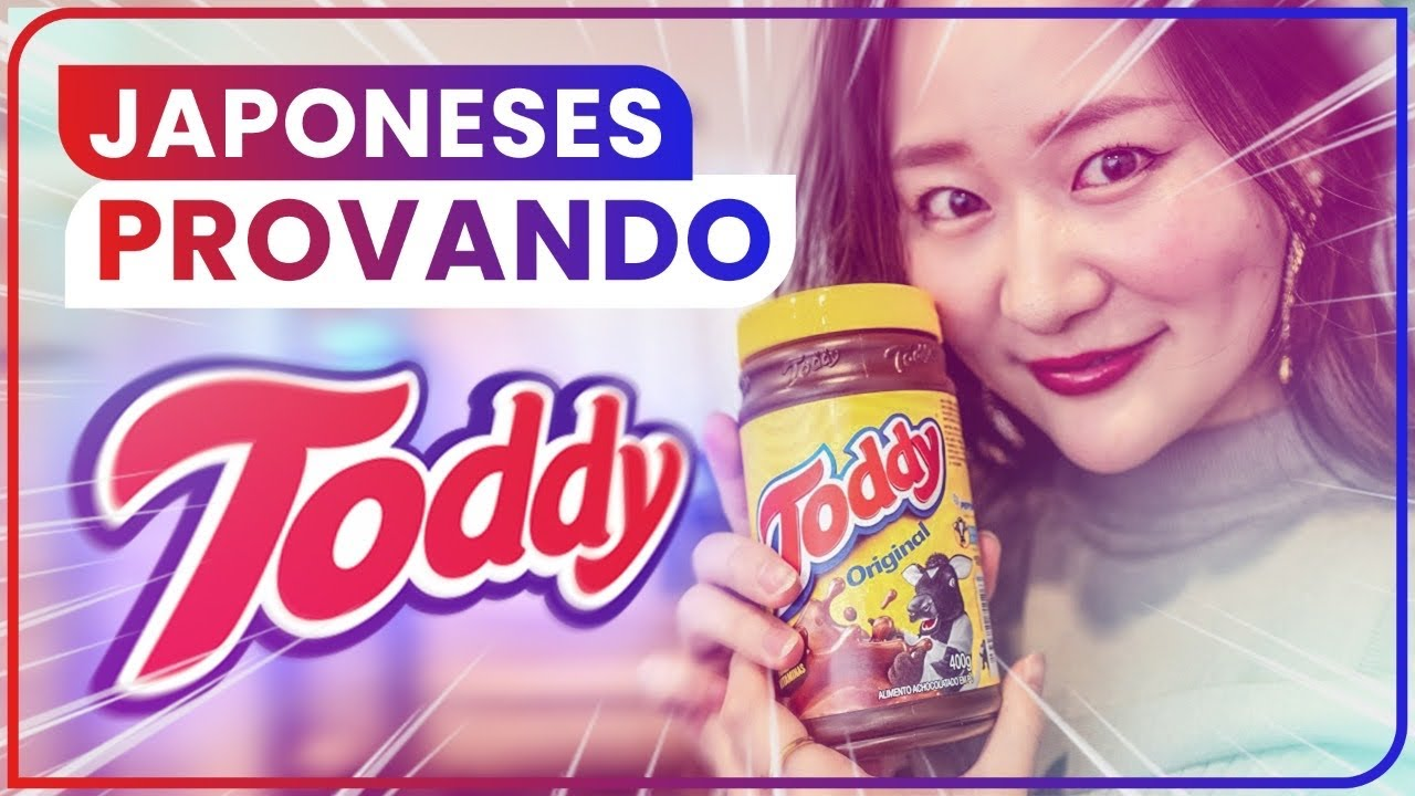 JAPONESES PROVANDO TODDY