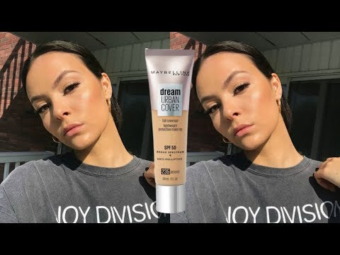 Maybelline Dream Urban Cover Foundation Review | First Impression + Wear Test! Kaylanxo thumbnail