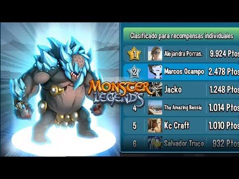 EMPIEZA LA CARRERA TITAN Y ASI VAMOS !! Monster Legends