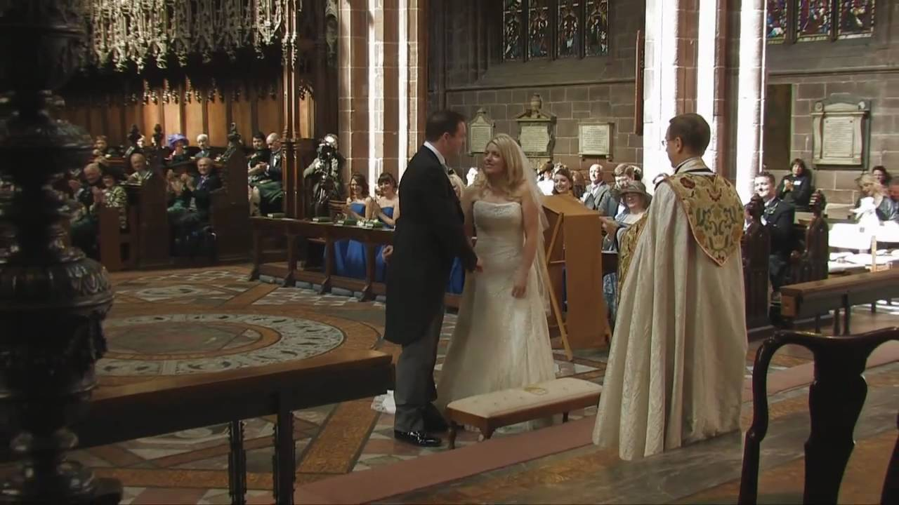 North Wales Wedding Videos Chester Cathedral Rowton Hall