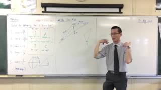 The Sine Rule (1 of 2: What does it actually mean?)