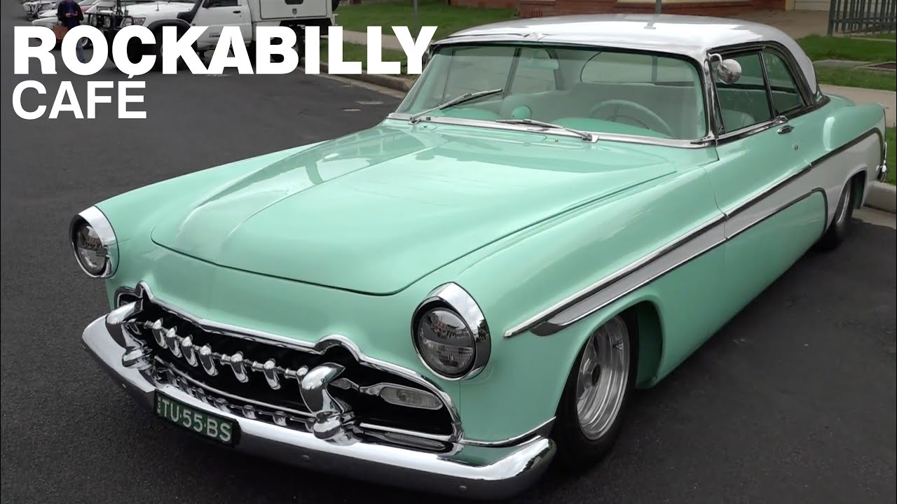 Rockabilly Café - Cars on Keppel St, Bathurst: Classic Restos - Series 46
