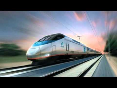 Sound Of Modern Train Revving Up Engine Youtube