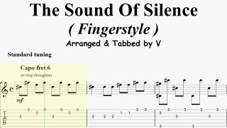 Download The Sound Of Silence ( Fingerstyle Guitar Tab ) Mp3 and Videos