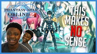 6 Years Later....Phantasy Star Online 2 is Localized...? (REACTION + SKIT)