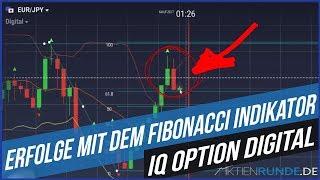 IQ Option Digital - Erfolge mit dem Fibonacci Indikator