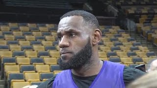 LeBron James Feels Sorry For Lakers Teammates Who Are In Trade Rumors!