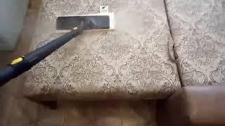 Обработка дивана паром от запаха кошачьей мочи