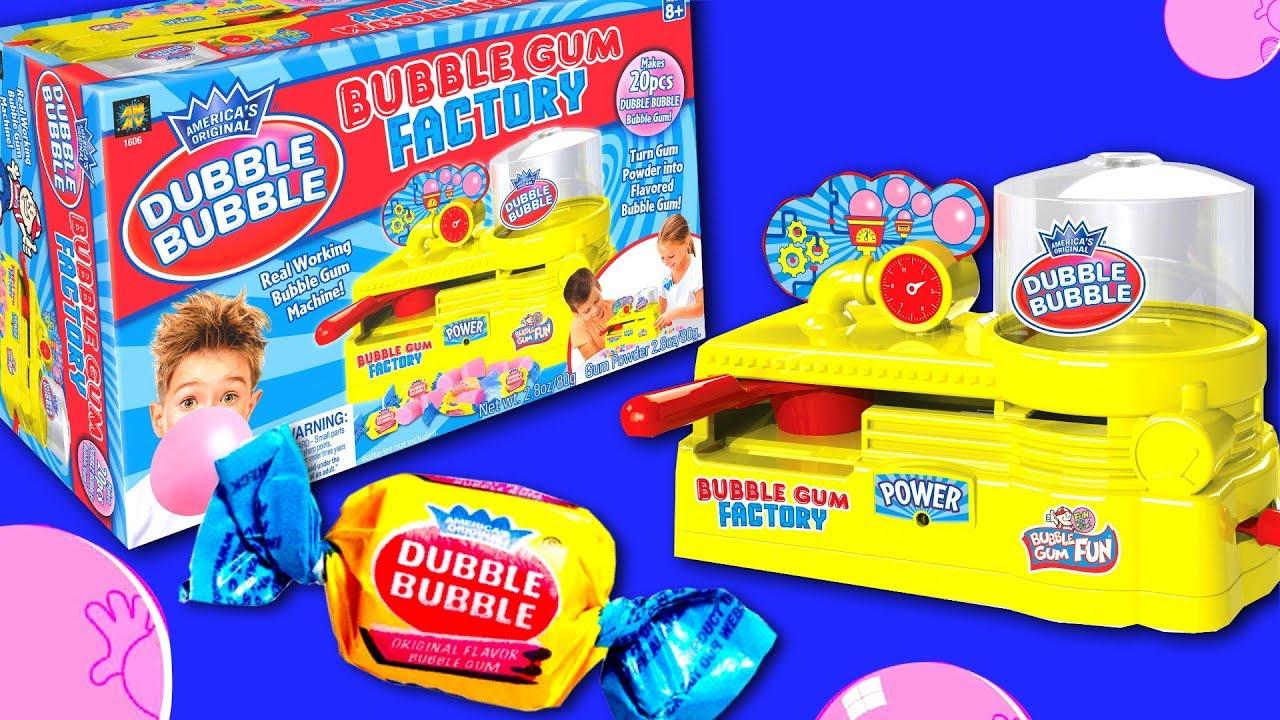 Artisanal Chewing Gum Factory