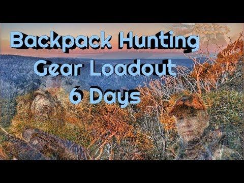 Hunting Gear Checklist - Sambar Deer Australian Alps Hunt For 6 Days, 22kg Total Pack Weight.