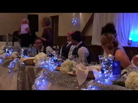 The wedding of Katryna and David