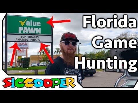 Video Game Hunting Road Trip Vlog #2 (Florida) | SicCooper