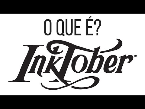 O que é Inktober? Como participar do desafio de desenho! (Existe um #comictober?) #inktober