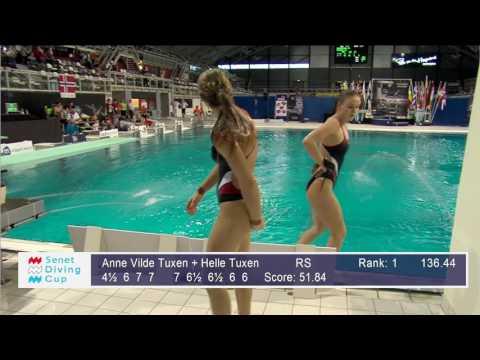 Senet Diving Cup 2017, Women+Mixed Open Platform Synchro