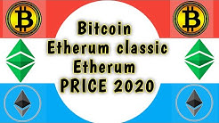 Bitcoin/ Etherum/ Etherum Classic (ETC) Price 2020 | Support Resistance Trading Strategy ||