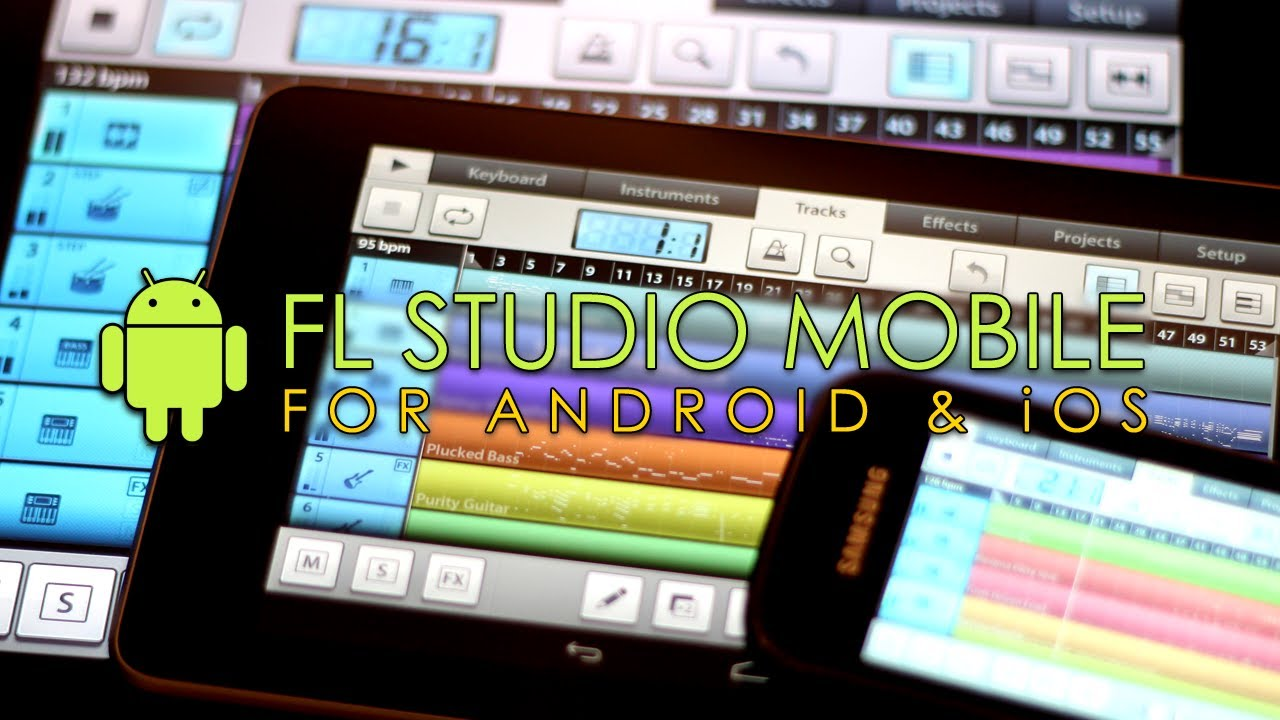 Fl studio mobile for android and ios youtube for Studio mobili