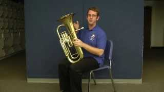 Holding the Euphonium