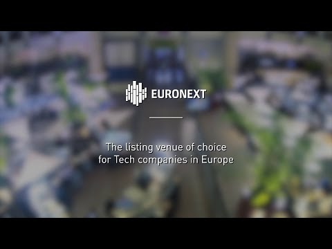 Why Tech SMEs across Europe choose Euronext to finance their growth