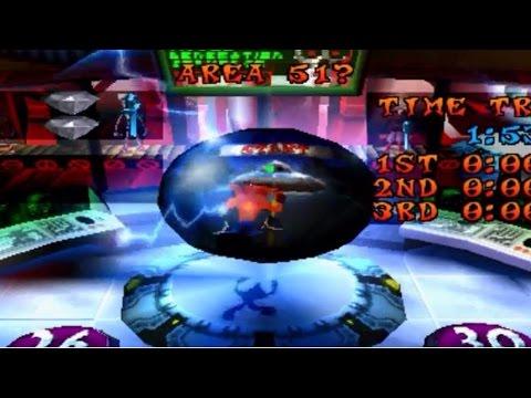 Crash Bandicoot Warped Walkthrough #8 Area 51?