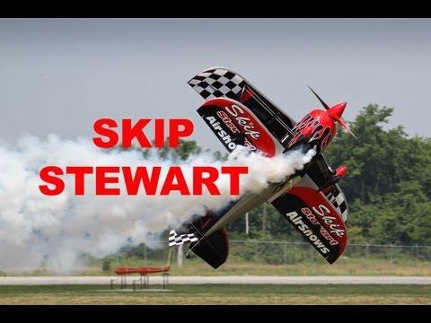 SKIP STEWART - Amazing Aerobatic Performance in Dayton