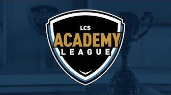 Week 8 Day 2   LCS Academy Spring Split (2020)