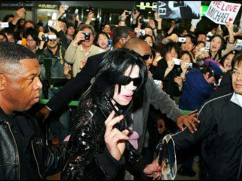 Michael Jackson - EXCLUSIVE! Very Rare Unseen Video [Arrives in Japan AMATEUR PRIVATE FOOTAGE]